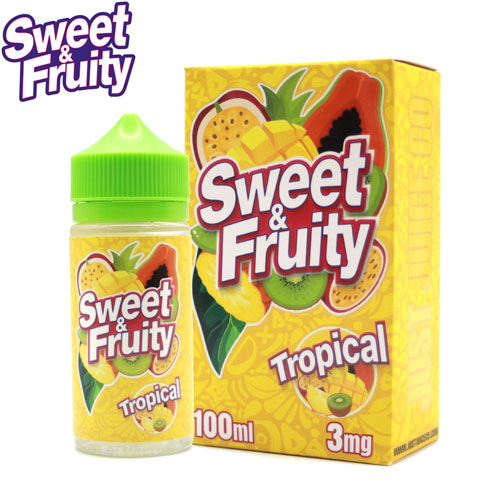 Tropical by Sweet & Fruity E-Juice 100ml