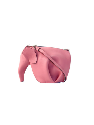 Loewe candy pink mini elephant crossbody NWT retail $1450