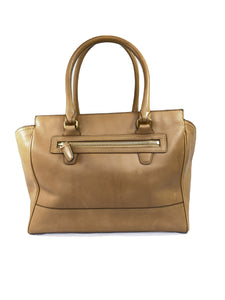 Coach Candace legacy tan leather carryall 24201 - My Girlfriend's Wardrobe LLC