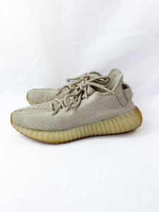 Yeezy Boost gray sesame sneakers size 5M/6W - My Girlfriend's Wardrobe LLC