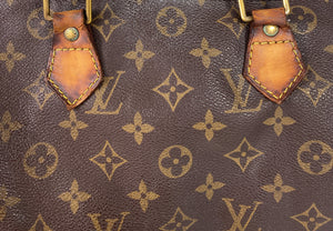Louis Vuitton monogram Speedy 30 AS IS