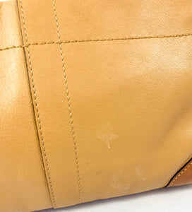 Coach brown and tan leather mini shoulder bag - My Girlfriend's Wardrobe York Pa