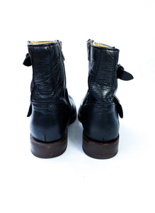 Frye black leather ankle boots size 7.5 NWT - My Girlfriend's Wardrobe York Pa