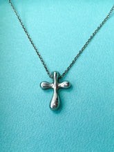 Tiffany and Co Elsa Peretti small cross necklace - My Girlfriend's Wardrobe York Pa