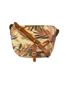 Patricia Nash multi color leather crossbody - My Girlfriend's Wardrobe LLC
