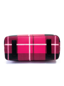 Kate Spade pink and black plaid tote - My Girlfriend's Wardrobe York Pa