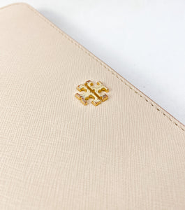 Tory Burch blush pink leather wallet/wristlet - My Girlfriend's Wardrobe York Pa