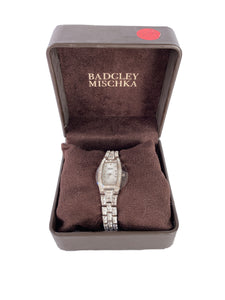 Badgley Mischka rhinestone watch