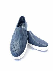 Michael Michael Kors navy perforated sneakers size 6 - My Girlfriend's Wardrobe York Pa