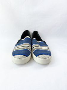 Vince navy, cream, and black slip on sneakers size 11 - My Girlfriend's Wardrobe York Pa
