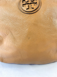Tory Burch brown leather shoulder bag