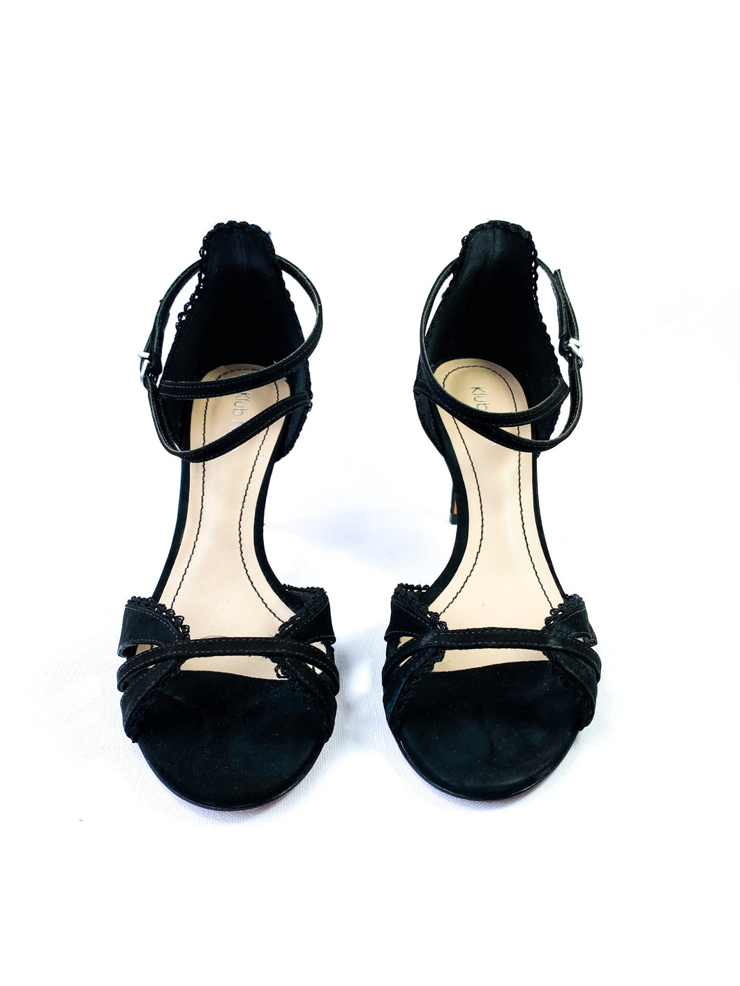 Klub Nico black strappy pumps NEW - My Girlfriend's Wardrobe York Pa
