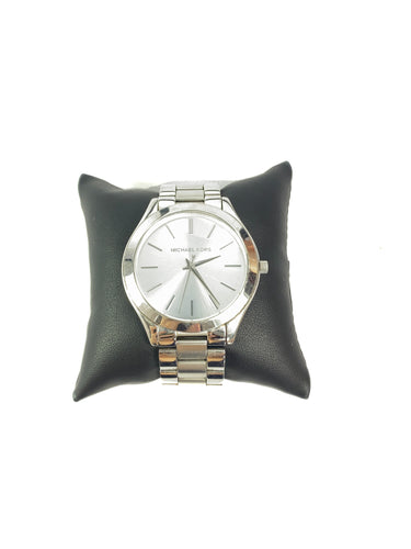 Michael Kors slim silver watch MK3178