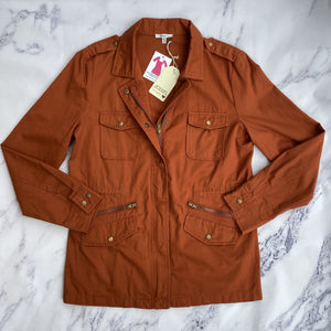 Jodifl orange utility jacket NWT - My Girlfriend's Wardrobe York Pa