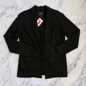 Liverpool black open blazer - My Girlfriend's Wardrobe York Pa