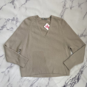 Vince oatmeal cashmere sweater