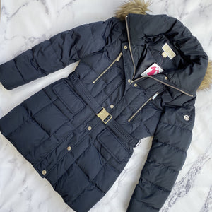 Michael Kors navy puffer jacket - My Girlfriend's Wardrobe York Pa
