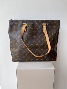 Louis Vuitton monogram cabas mezzo tote - My Girlfriend's Wardrobe York Pa