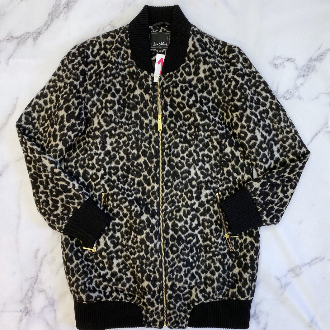 Sam Edelman leopard print jacket NWT - My Girlfriend's Wardrobe York Pa