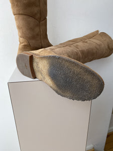 UGG tall suede boots size 7.5