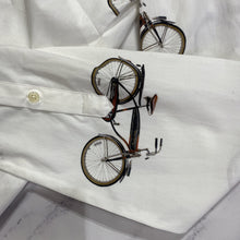Korkmakur & Skjoldur bicycle shirt tunic dress - My Girlfriend's Wardrobe York Pa