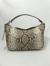 Michael Kors snake print fulton convert. shoulder bag NEW - My Girlfriend's Wardrobe