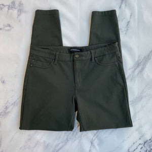 Liverpool olive ankle pants
