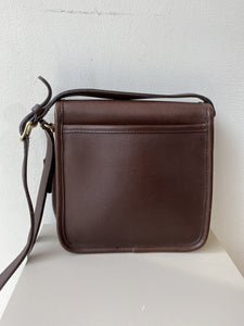 Coach vintage brown leather crossbody 9076 - My Girlfriend's Wardrobe York Pa