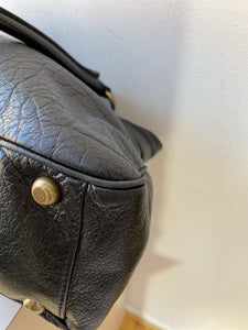 Marc Jacobs black leather shoulder bag - My Girlfriend's Wardrobe York Pa