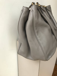 Marc by Marc Jacobs gray leather satchel NWT - My Girlfriend's Wardrobe York Pa