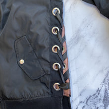 Cavalini black bomber jacket - My Girlfriend's Wardrobe York Pa