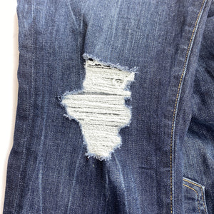 Good American Good Legs distressed skinny jeans - My Girlfriend's Wardrobe York Pa
