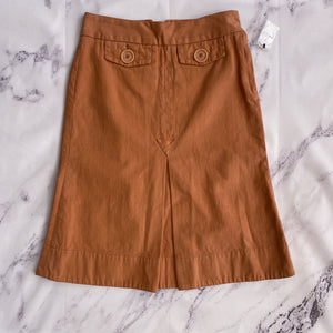 Marc Jacobs orange skirt size 6 - My Girlfriend's Wardrobe LLC