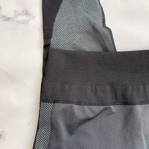 Lululemon black and gray workout leggings - My Girlfriend's Wardrobe York Pa