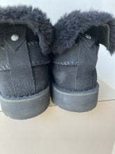 UGG black super short ankle boots size 10 - My Girlfriend's Wardrobe York Pa