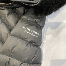 Burberry black puffer jacket