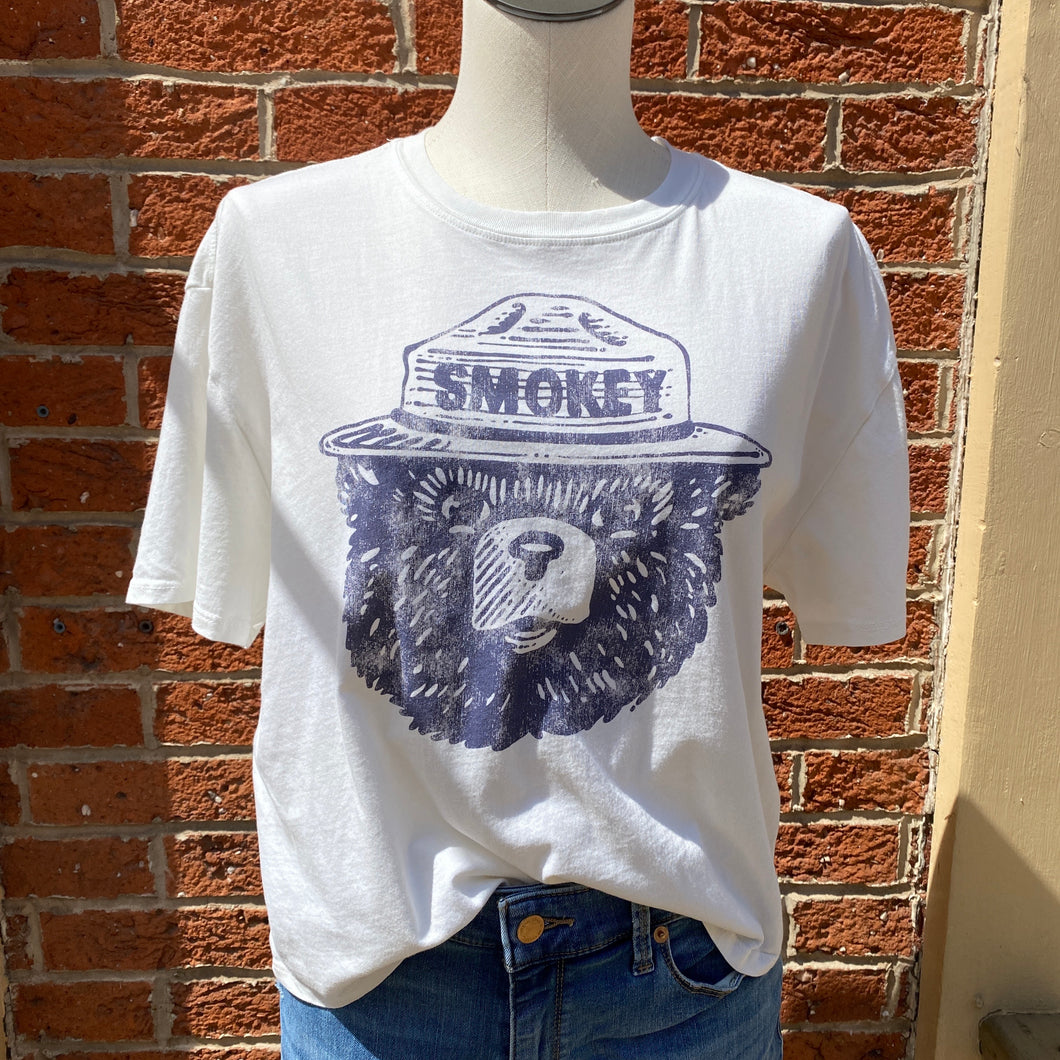 Smokey the Bear tee size XL