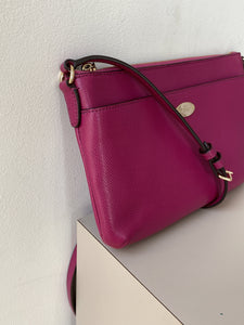 Coach magenta leather crossbody - My Girlfriend's Wardrobe York Pa