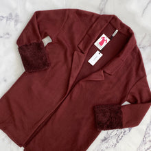 Z Supply burgundy open cardigan NWT - My Girlfriend's Wardrobe York Pa