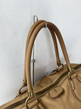 Tod's tan leather tote