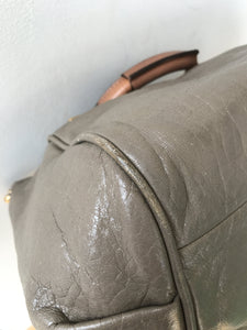 Chloe taupe and brown leather bag - My Girlfriend's Wardrobe York Pa