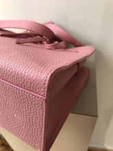 Mansur Gavriel poppy pink leather sun tote - My Girlfriend's Wardrobe York Pa
