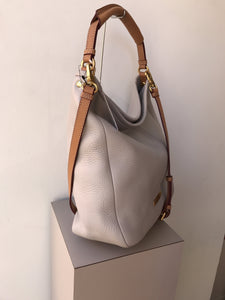 Marc by Marc Jacobs gray brown satchel NWT - My Girlfriend's Wardrobe York Pa