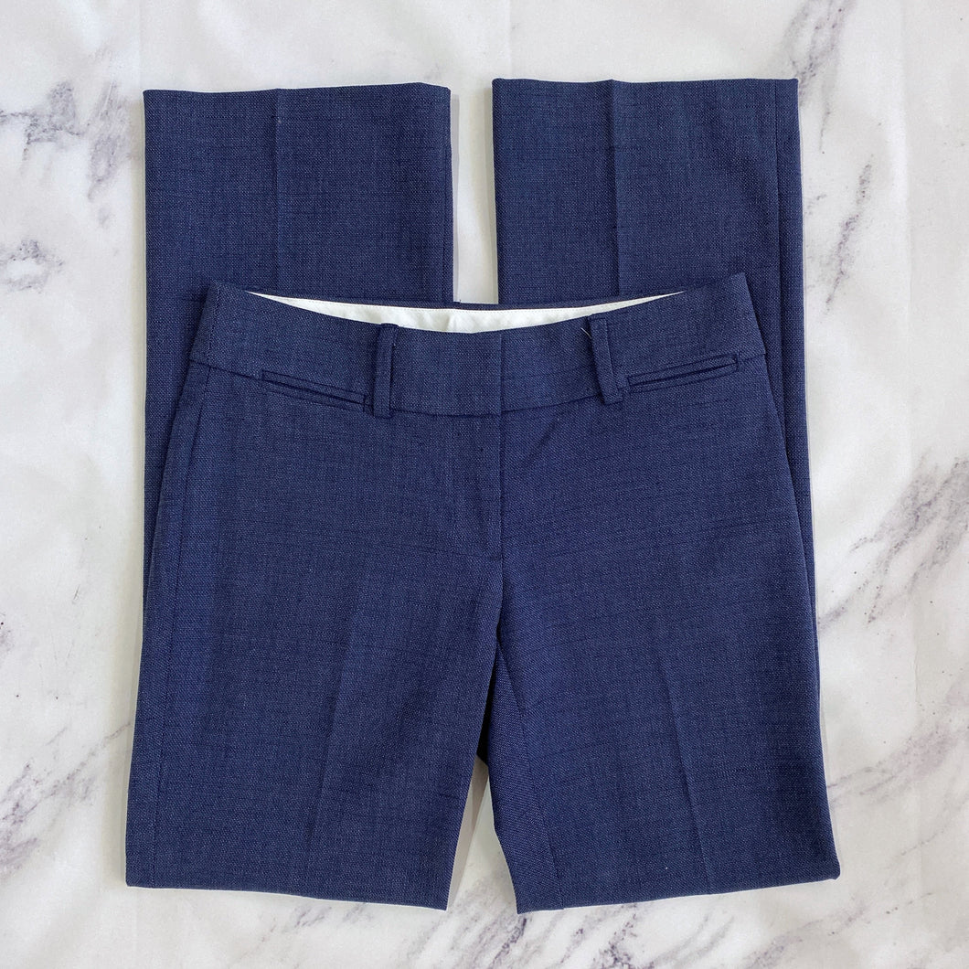 Loft denim blue marissa trouser pants - My Girlfriend's Wardrobe York Pa