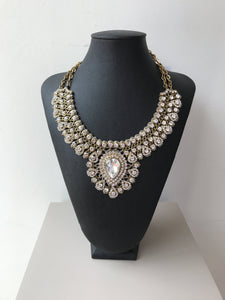 Tasha 90s vintage crystal necklace - My Girlfriend's Wardrobe York Pa
