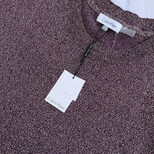 Calvin Klein purple gold glitter sweater NWT - My Girlfriend's Wardrobe York Pa