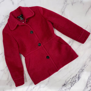 Etc Etera hot pink wool jacket - My Girlfriend's Wardrobe York Pa