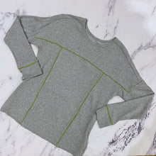 Evy's Tree gray long sleeve top - My Girlfriend's Wardrobe York Pa