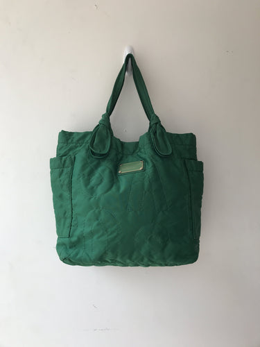 Marc by Marc Jacobs green nylon tote - My Girlfriend's Wardrobe York Pa