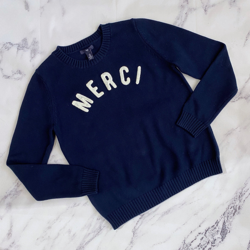 Gap navy Merci sweater NWT - My Girlfriend's Wardrobe York Pa